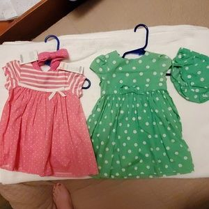 Gymboree dresses 6-12 months